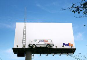 valla publicitaria fedex