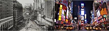 rotulos y pantallas en new york
