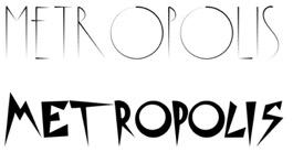 tipografia para rotulos